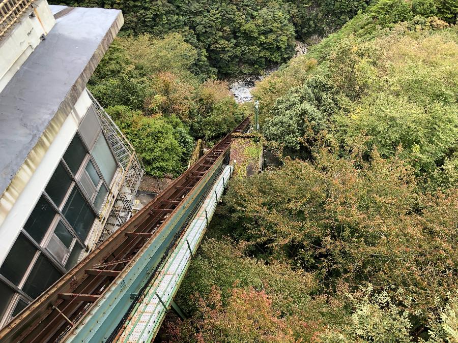 祖谷温泉ケーブル